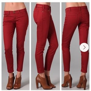 Current/Elliot Rodeo Red Skinny Jeans Size 24 or 0